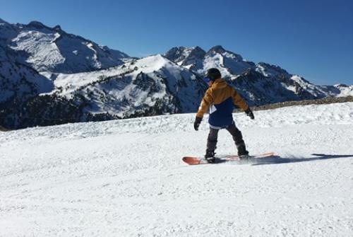 EVOLUTION2-cours snowboard saint lary