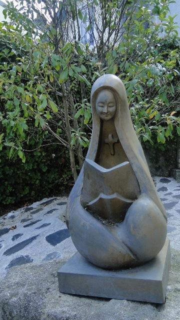 Lourdes Ancien Presbytère Statue