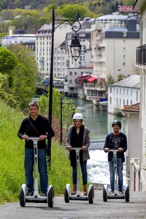 Lourdes Balade Gyropode quartier hôtels © P. VincentOT Lourdes