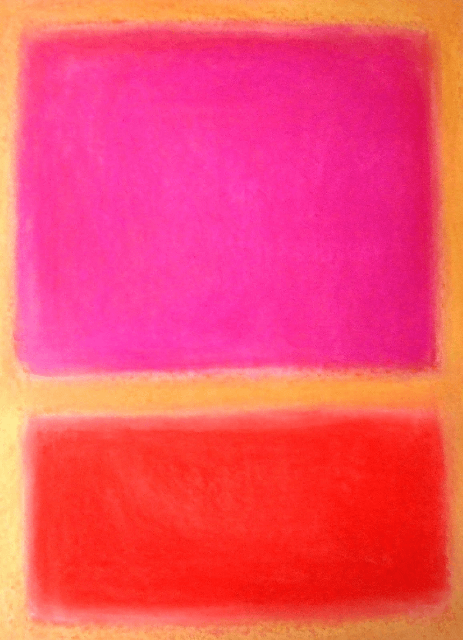 "Atelier d'arts plastiques Adultes ""Mark Rothko ou l'abstraction totale"""