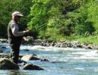 Pêche dans la Neste