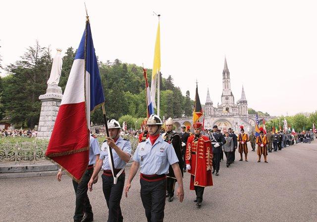 Pèlerinage Militaire International Lourdes