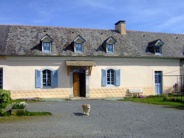 Vue ext&#xE9;rieure maison - Location Didier LIOS