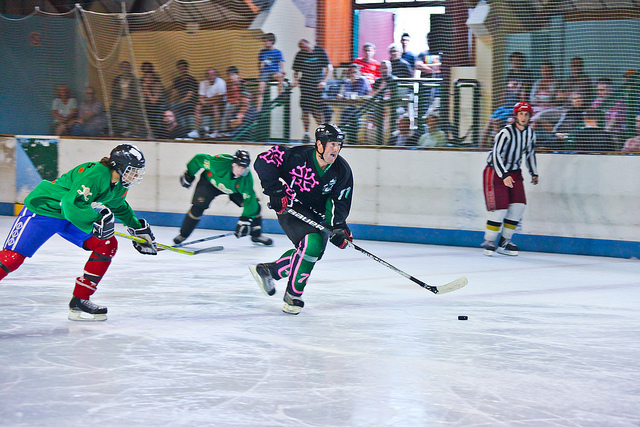 Hockey sur glace : Match d'exhibition
