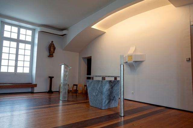 Lourdes Hospice Sainte Bernadette oratoire