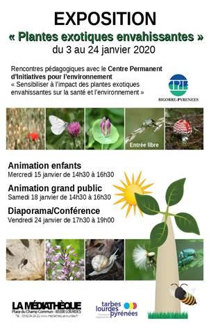 Lourdes Médiathèque exposition janvier 2020