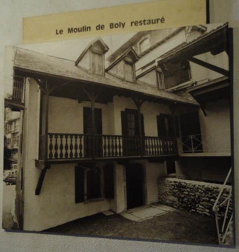 Lourdes Moulin de Boly restauré