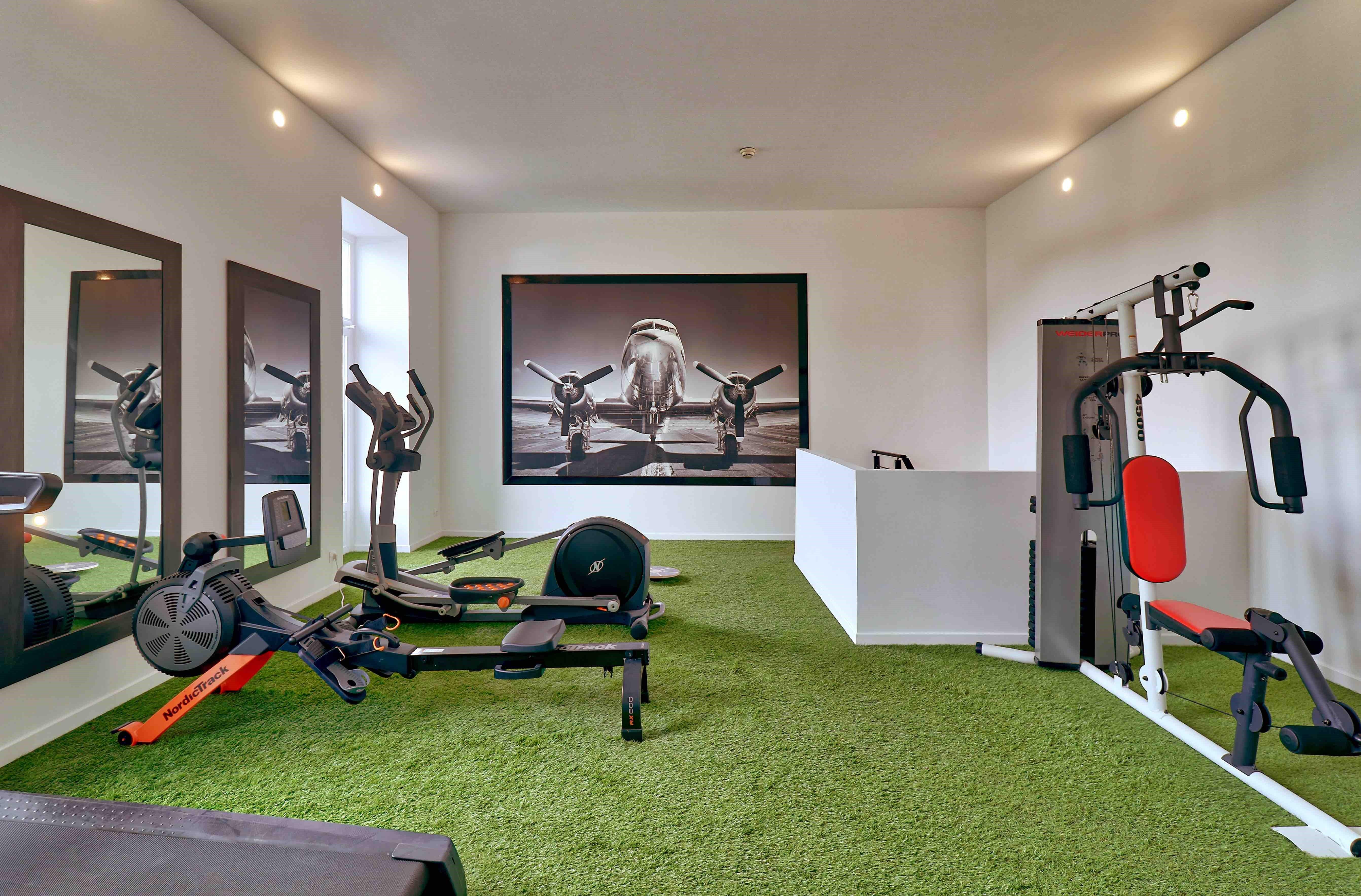 Lourdes hotel Belfry salle de sport et de fitness