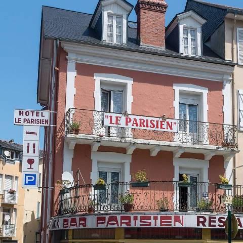 Lourdes hôtel bar restaurant Le Parisien