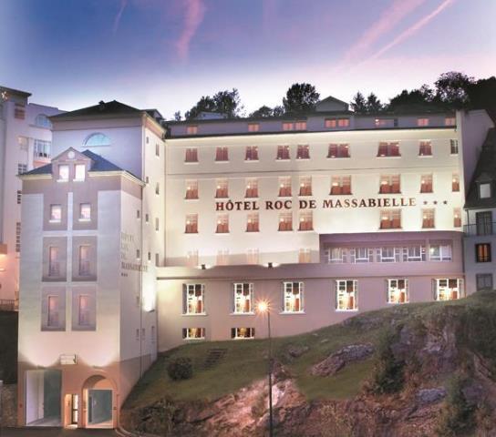 Lourdes hôtel Roc de Massabielle