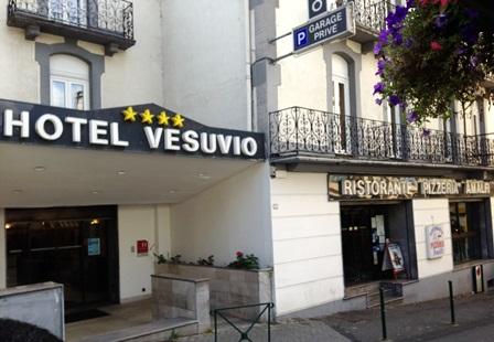 Lourdes hotel Vesuvio