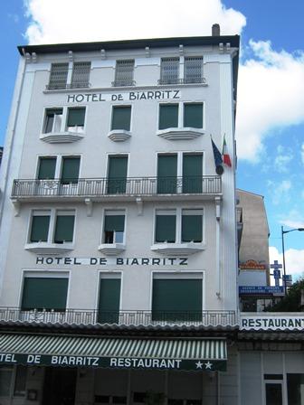 Lourdes hôtel de Biarritz