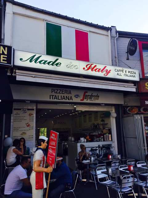 Lourdes restaurant Made in Italy