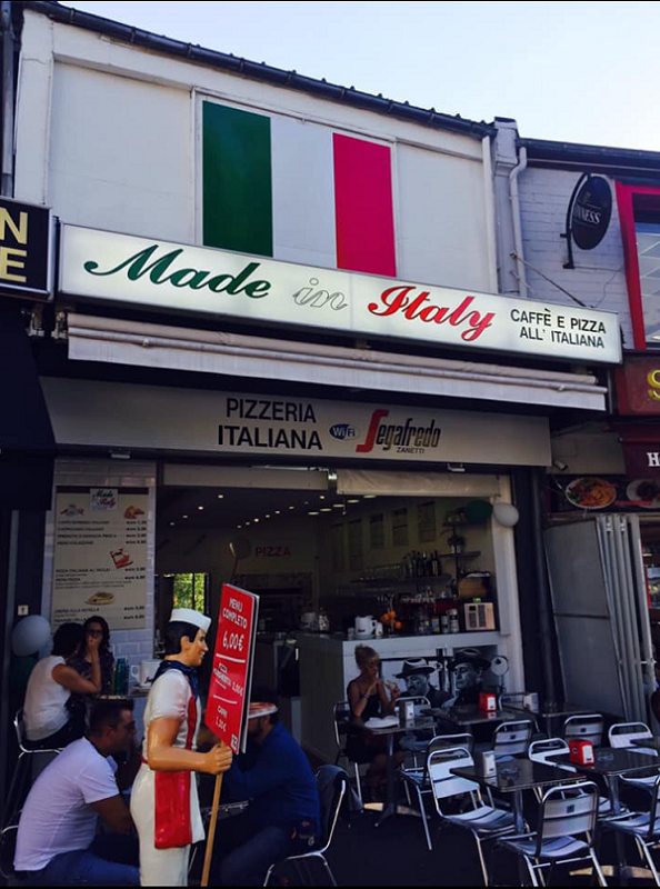 Made in Italy - terrasse