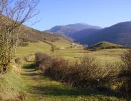 chemin vers Jézeau depuis Pailhac
