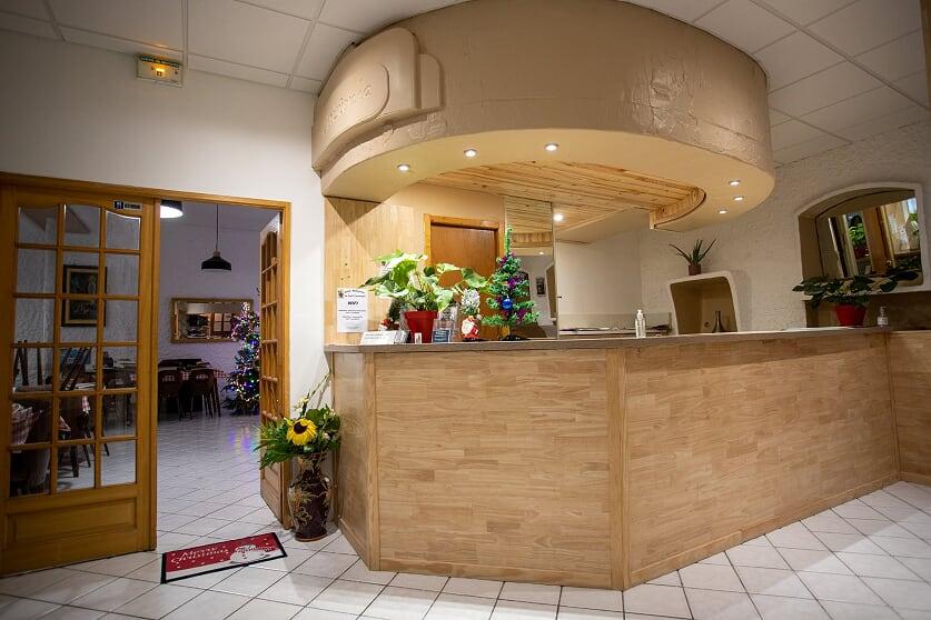 hotel Saint Christophe Lourdes accueil